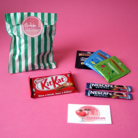 Small thank you gifts to buy online, goody bags to say thank you